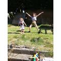 Star jumps!