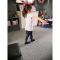 Brilliant balancing Layla.