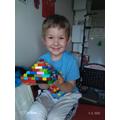 Daniel has made a super lego model.