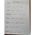Amazing handwriting Blake.