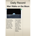 Scarlet's Man on the Moon work