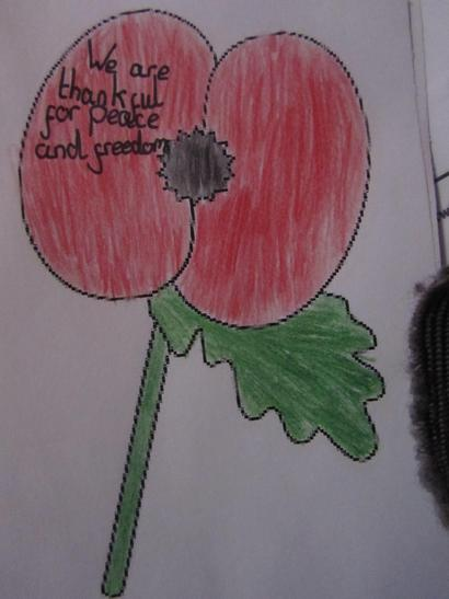 We created Poppies to thank our armed forces
