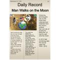Myles' Man on the Moon work