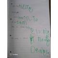 Daniel has been writing.