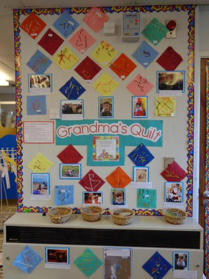 Our memory quilt.