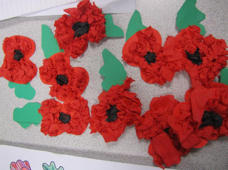 We have made poppies