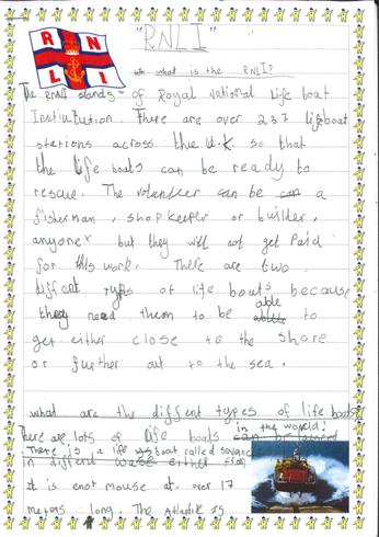 Writing Sample - Non Fiction