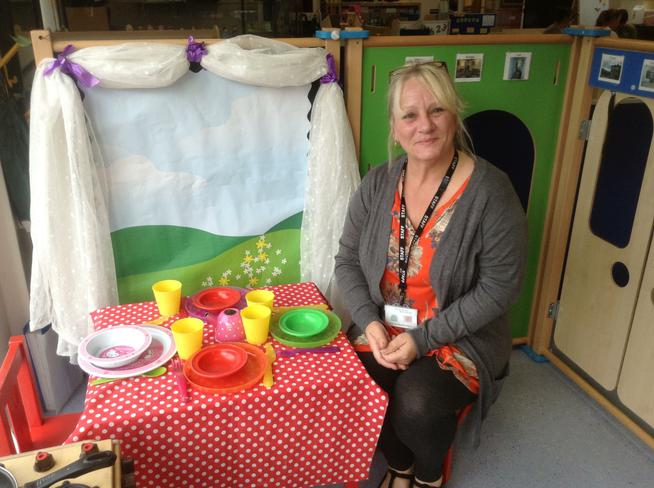 Mrs Duffy- Nursery Green teaching assistant