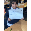 Excellent example of some of our handwriting and phonics.
