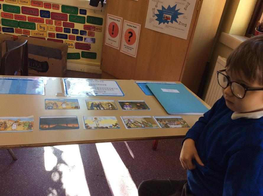 We sequenced the Easter story.