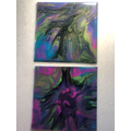Ezme - Year 4 - she has used resin mixed with acrylic