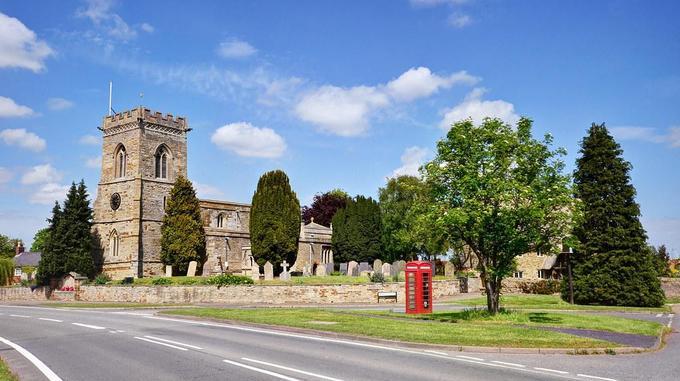 St Peter's Church Isham