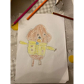 Drawing of Hey Duggee