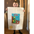 Campbell's poster of Mary Anning