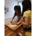 Flo - Making Gingerbread Men