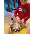Ewan's Vanilla Bundt Cake with orange drizzle icing