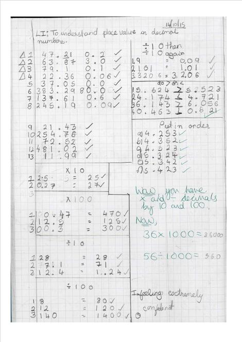 PLace value in decimals numbers by Freny