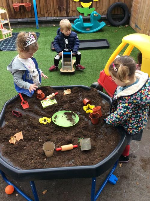Digging and planting