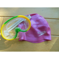 Going swimming: our equipment.