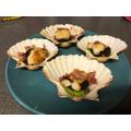 Scallops by Chef Neleswa