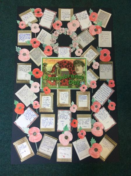 Willow Class wrote some letters