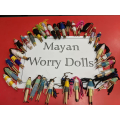 We made awesome worry dolls.