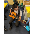 Individual music lessons on guitar.