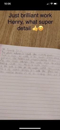 Henry's brilliant writing