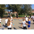 Keeping fit with Coach Tom!