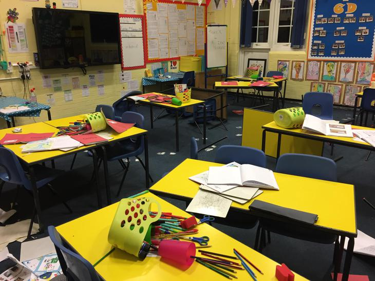 My lovely classroom !!!