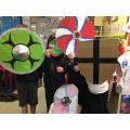 Awesome creative homework shields.