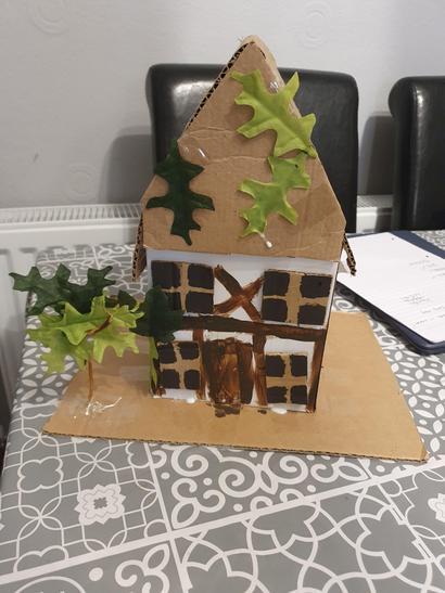Ellie's awesome Tudor House