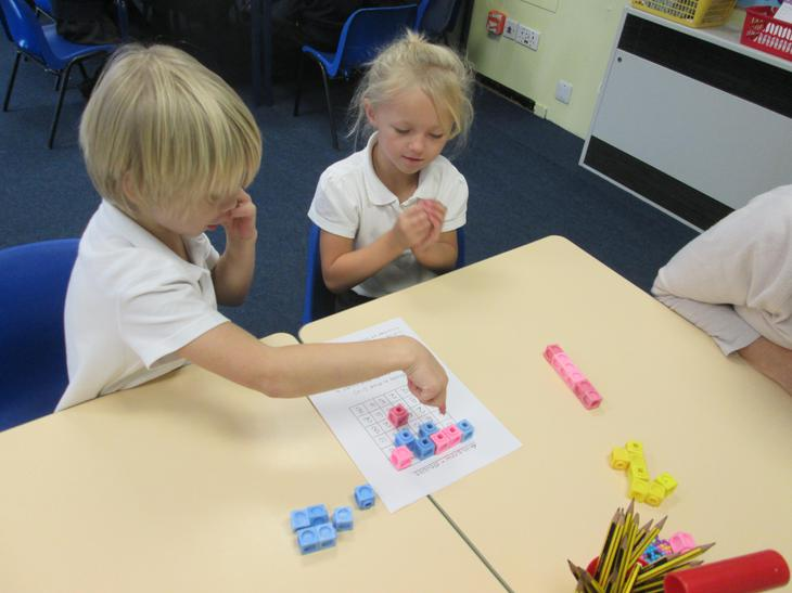 We play maths games to help us learn.