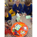 All of the Easter craft was available to us