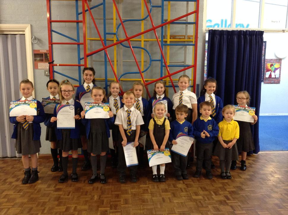 Award of Merit and Golden Award Winners 18.10.19
