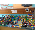 And a lego city of our town