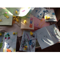 Look at all the Easter cards ready to go home