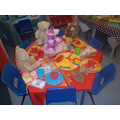Playdough Teddy Bears Picnic