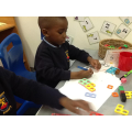 Exploring 7 using numicon