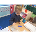 Counting the moon rocks 1 by 1