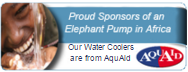 We are proud to support Aqua Aid and their brilliant work overseas installing Elephant Pumps to those who are in need of them.