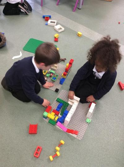 Sharing ideas on how to build a town