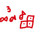 Matching amounts to objects, showing very careful counting.