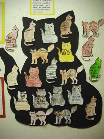 Our cat books based on 'Diary of a Killer Cat'