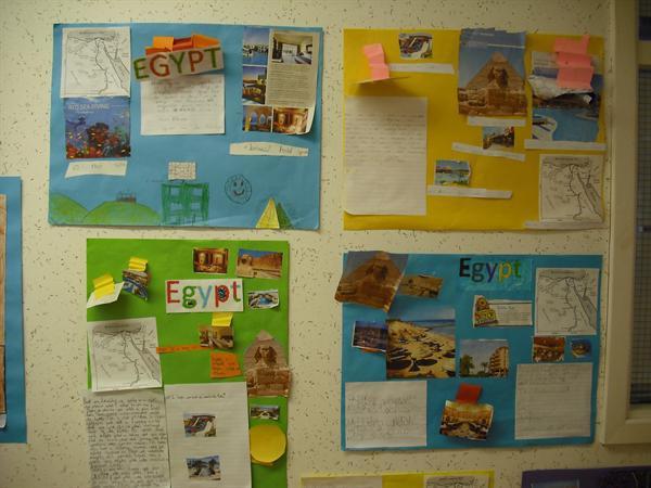 Egypt tourist posters
