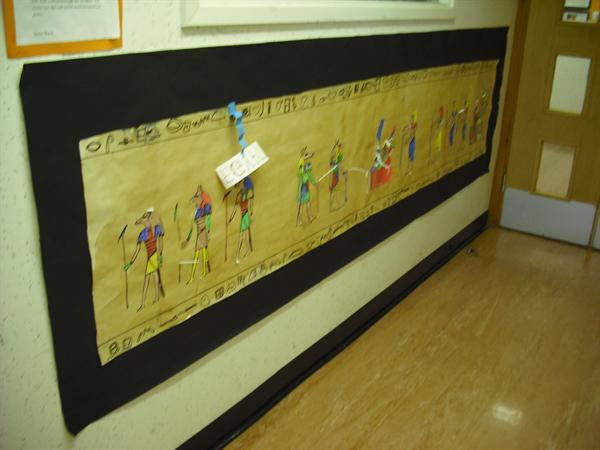Egyptian cave writing
