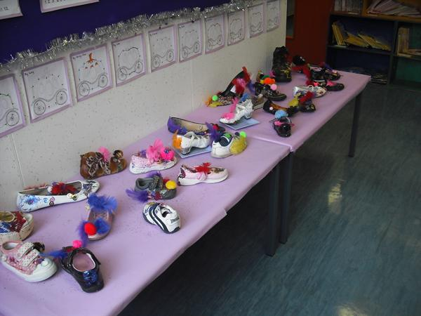 Our Cinderella shoes