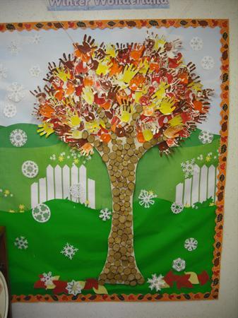 Our seasonal tree