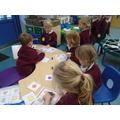 Shape bingo with the 'teacher!'