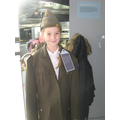 Trying on the RAF uniforms